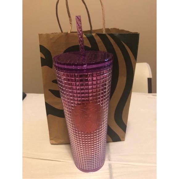New Starbucks purple studded Venti tumbler
